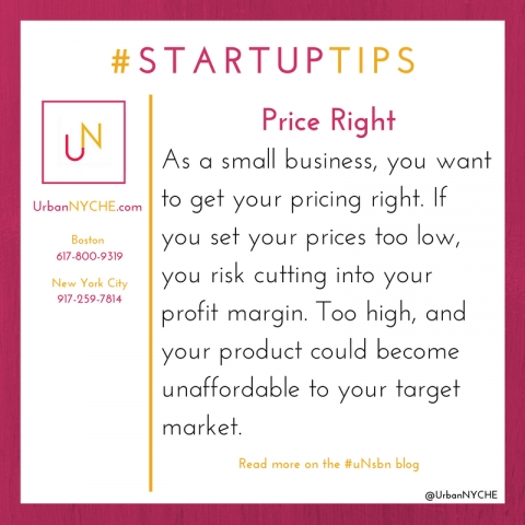 Startup Tips: Price Right